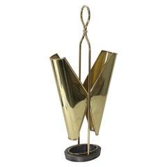 Brass Italian Umbrella Holder