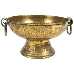 Late 19th Century English Brass Jardiniere