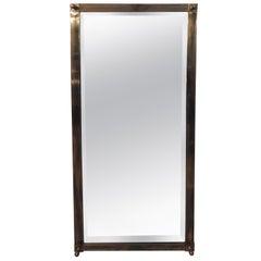 Brass Labarge Midcentury Mirror