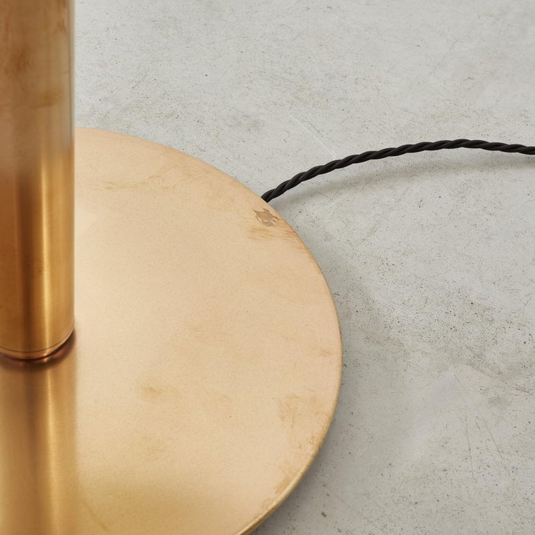 German Brass Lamp Attributed to Josef Frank For Sale