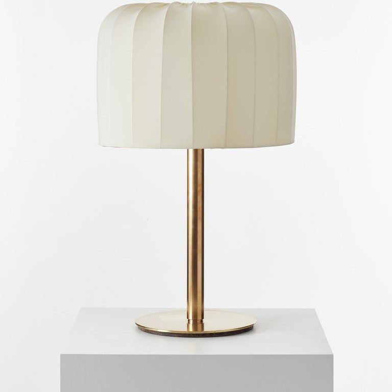Metal Brass Lamp Attributed to Josef Frank For Sale