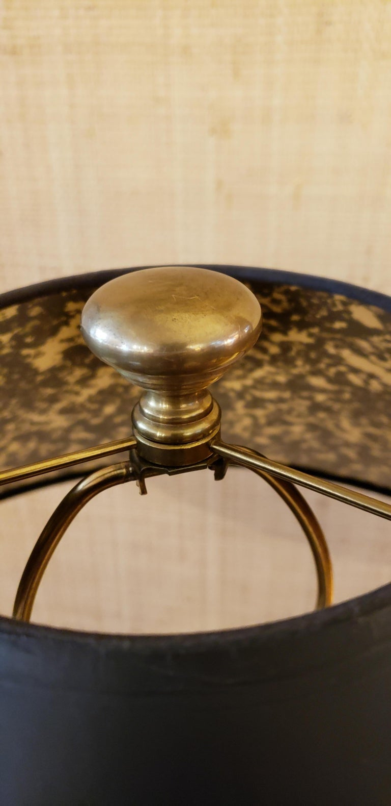Late 20th Century Brass Lamp by Chapman For Sale