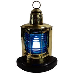 Brass Lantern by National Marine Lamp Company
