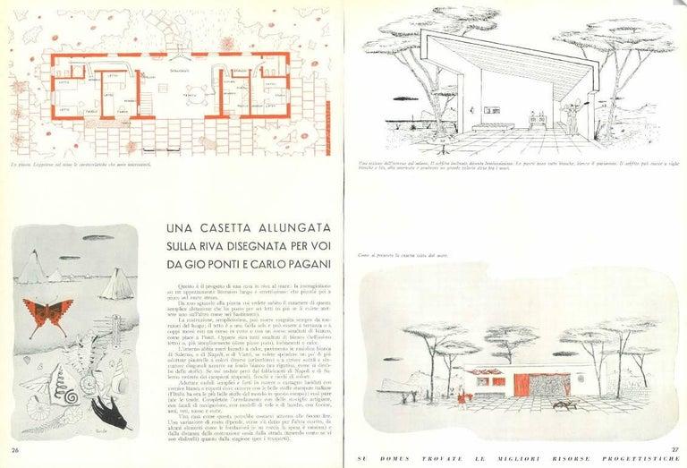 Brass Leg Chairs by Pagani, Partner of Gio Ponti & Linda Bo Bardi, 1952, Arflex 11