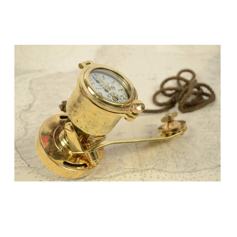Brass Log Signed Walker's Excelsior IV Patent Log, 1920 circa For Sale 10
