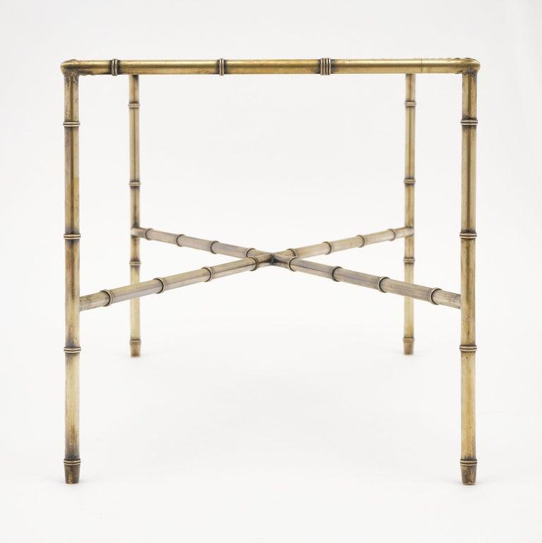 Brass Maison Baguès Coffee Table For Sale 2