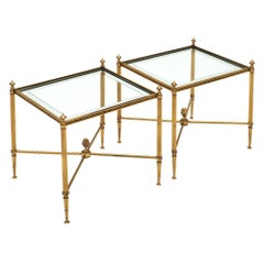 Brass Maison Baguès Side Tables