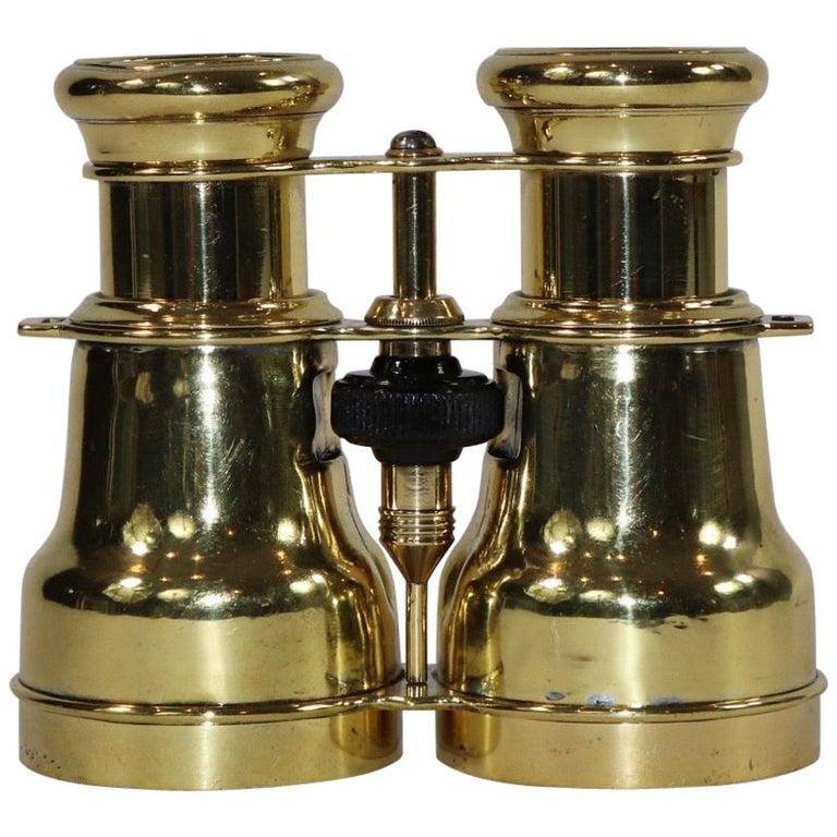 Brass Marine Binoculars from Japan For Sale