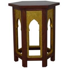 Mehraab Table Brass