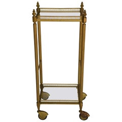 Brass Midcentury Bar Cart