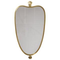 Brass Mirror, circa 1950