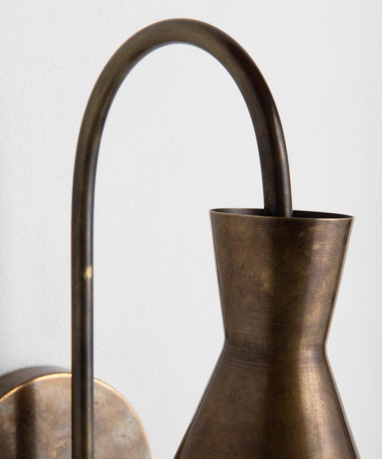 Italian Brass Modern Sconce, Italy, 21st Century For Sale