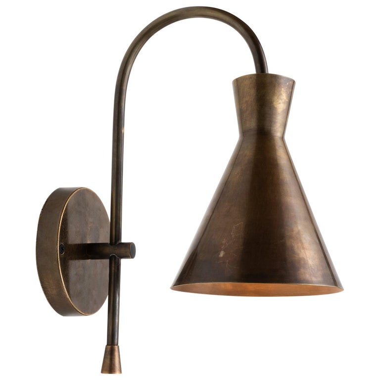 Brass Modern Sconce, Italy, 21st Century For Sale
