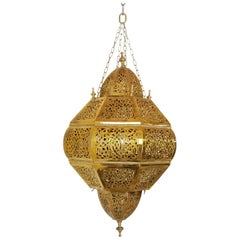 Beautiful Brass Moroccan Andalusian Chandelier
