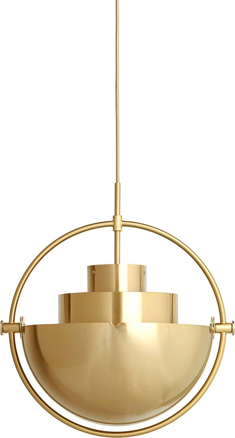 Brass multi light pendant louis weisdorf for sale at 1stdibs post modern brass multi light pendant louis weisdorf for sale aloadofball Images