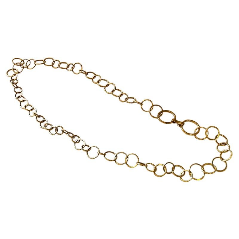 Brass Necklace or Hip Link by Anna Greta Eker, Norway, 1960s-1970s