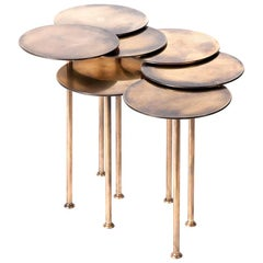 Brass Nenuphar Coffee Table by Atelier Thomas Formont