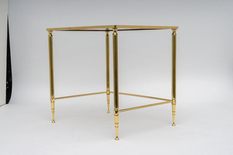 Brass Nesting Tables For Sale 3