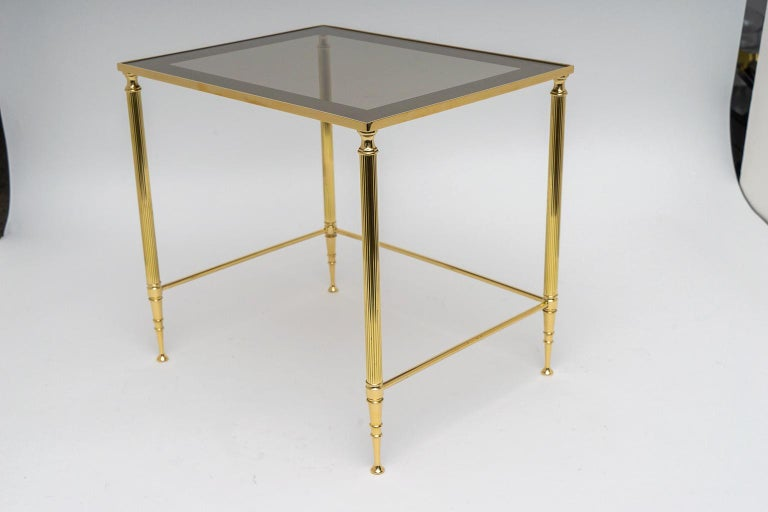 Brass Nesting Tables For Sale 4