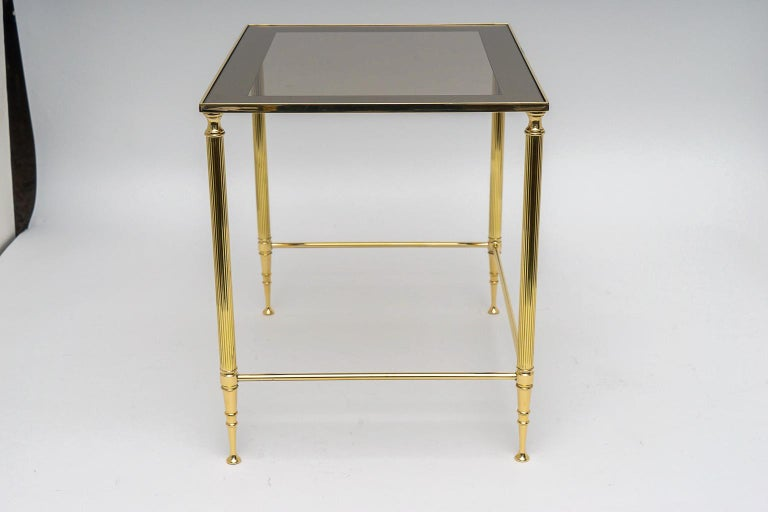 Brass Nesting Tables For Sale 5