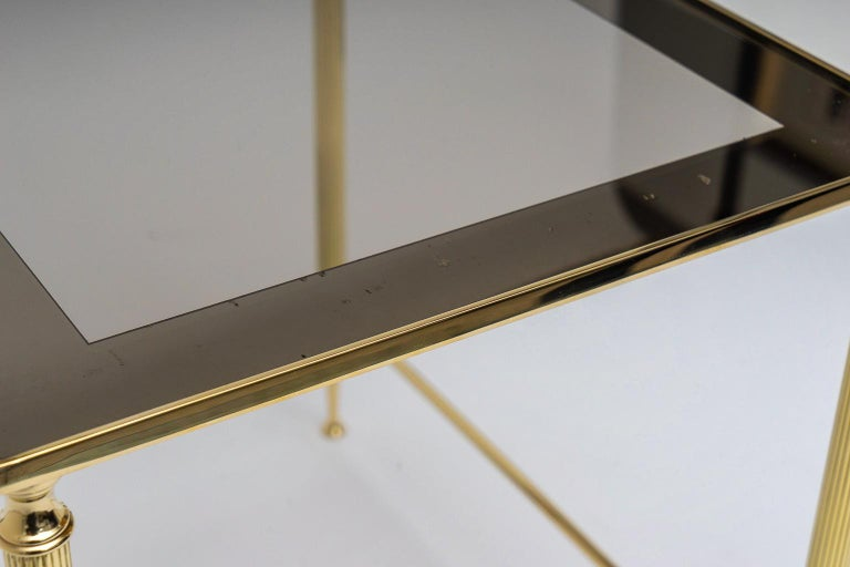 Brass Nesting Tables For Sale 7