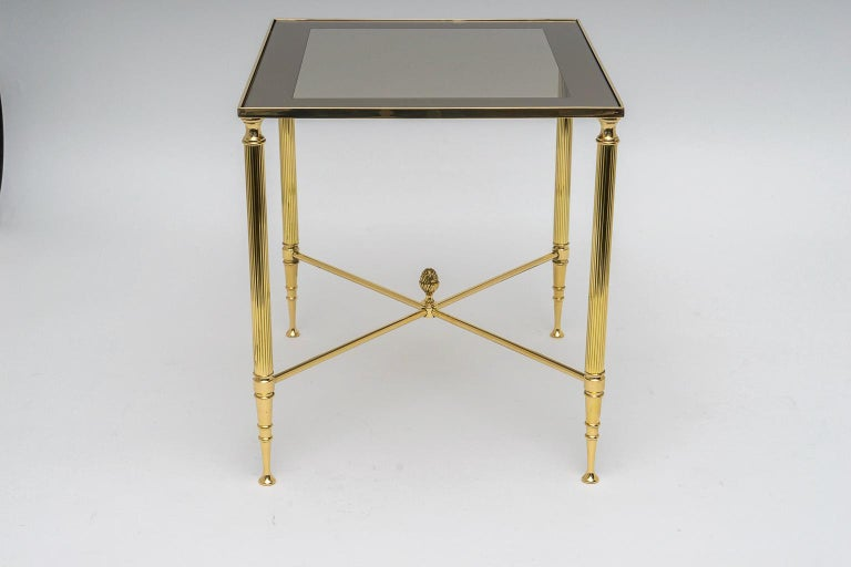 Cast Brass Nesting Tables For Sale