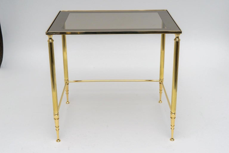Brass Nesting Tables For Sale 2