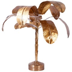 Brass Palm Tree Sculpture