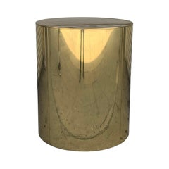 Brass Pedestal Base by Curtis Jere