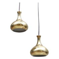 Brass Pendants by Hans Agne Jakobsson