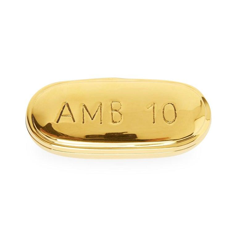 American Brass Pill Box Set For Sale