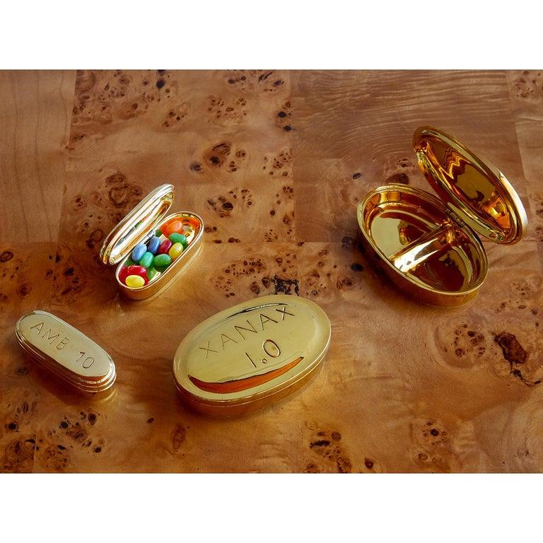 Brass Pill Box Set For Sale 2