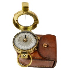 Brass Prismatic Bearing Compass, 1918