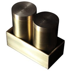 Brass Salt and Pepper Shaker