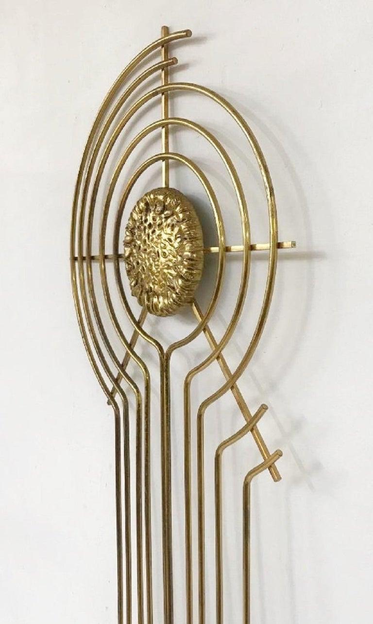 European Brass Sculpture For Sale
