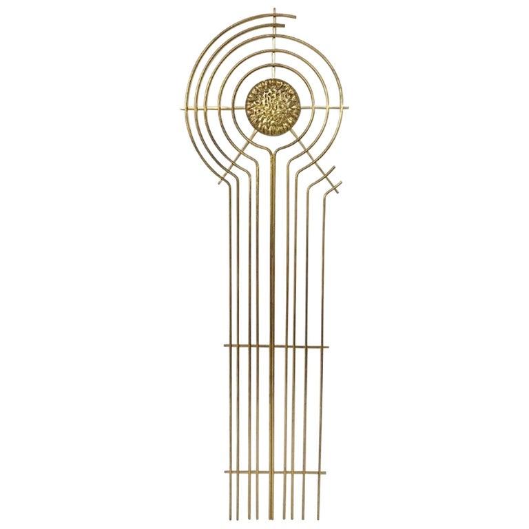 Brass Sculpture For Sale