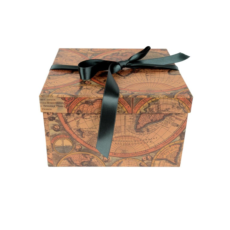 Brass Sextant in its Original Oak Wood Box, 1940s For Sale 13