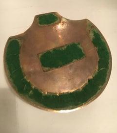 Brass Shell Trinket Box