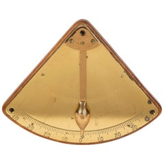 Brass Ship's Inclinometer, circa 1910