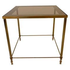 Brass Side Table, 1960