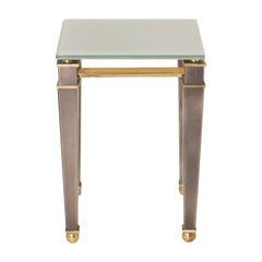 Brass Side Table by Belgo Chrome, circa 1960