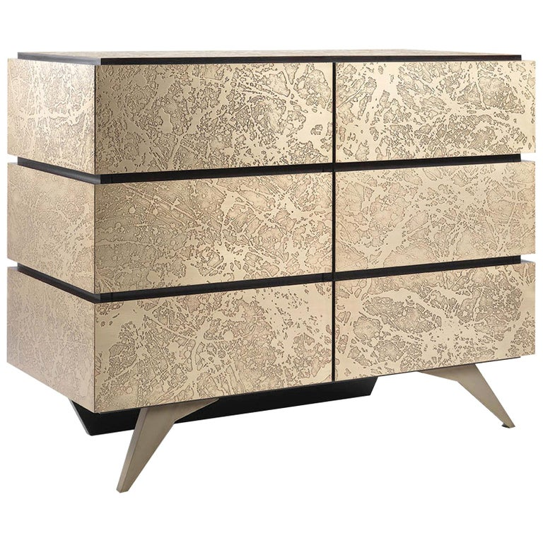 Brass Sideboard For Sale