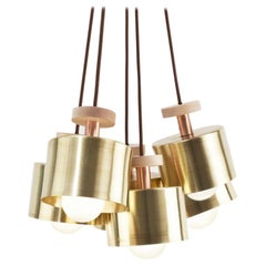 Brass Spun Cluster 5 Pieces Light by Ladies & Gentlemen Studio
