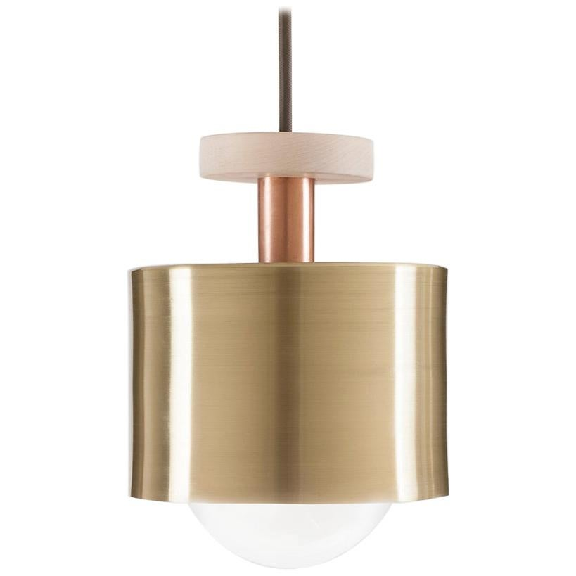 Brass Spun Pendant Light by Ladies & Gentlemen Studio