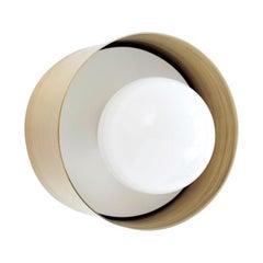 Brass Spun Sconce Light by Ladies & Gentlemen Studio