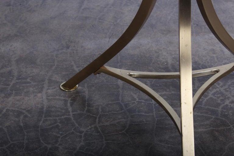 Brass Stool by John Stewart For Sale 4