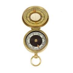 Brass Survey Compass the Magnapole