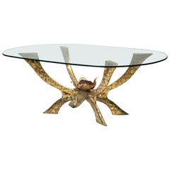 Brass Table by Jacques Duval-Brasseur