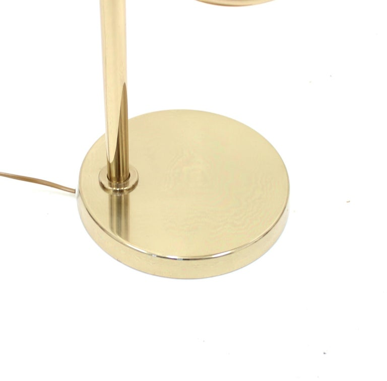 Brass Table Lamp by Bergboms, Model B-090, 1970s For Sale 7