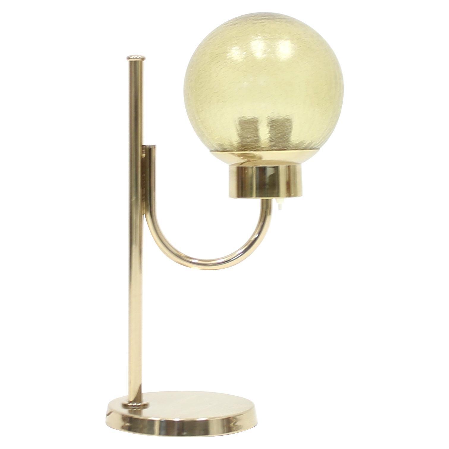 Brass Table Lamp by Bergboms, Model B-090, 1970s